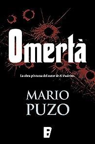 Omertà par Mario Puzo