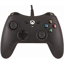 AmazonBasics - Controller für die Xbox One, kabelgebunden, Schwarz