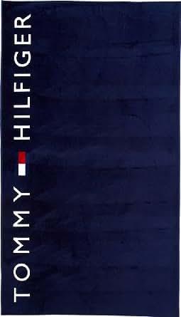 tommy hilfiger herren tuch logo towel handtuch e357828650 gr one size blau 492 delhi. Black Bedroom Furniture Sets. Home Design Ideas