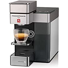 FrancisFrancis. Y5Espresso + Coffee (S + C) ipere mediaespresso, color blanco