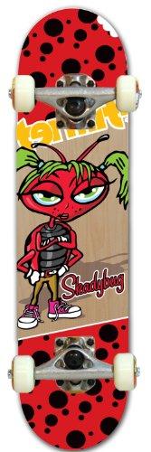 Skateboard Komplett 28 (Termite TM Shady Bug komplett Skateboard Deck)