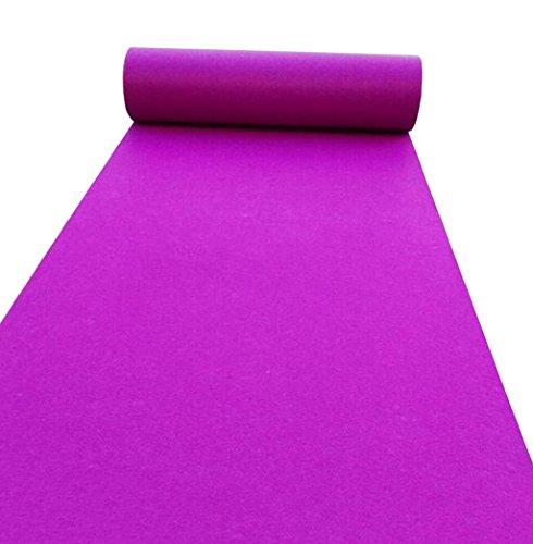 eppich Einmalige Feier eröffnete Bühnenshow Hotel Dekoration Teppich (lila Teppich Läufer) (größe : 1.5m*50m) ()
