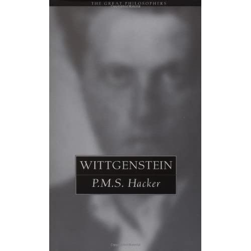 Wittgenstein (The Great Philosophers Series) by P.M.S. Hacker (1999-07-29)