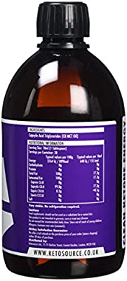 Premium C8 MCT Oil | Boosts Ketones 3X More Than Other MCTs | Highest Purity C8 MCT Available 99.8% | Paleo & Vegan Friendly | Gluten Free | BPA-Free Bottle | Pure Caprylic Acid | Ketosource® from Ketosource