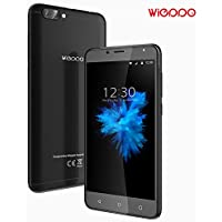 Smartphone Libres Baratos 4G, Wieppo S6 Teléfono móvil Dual SIM con Pantalla de 5.5 Pulgadas HD 1280*720, Doble Cámara 8MP+5MP, 2GB RAM 16GB ROM, Android 7.0, Batería de 3000mAh (Negro)