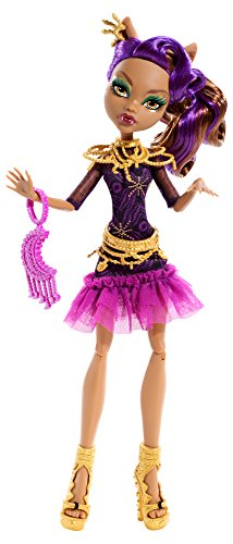 Mattel Monster High BDF26 - Licht aus Grusel an Clawdeen, Puppe (Monster High Vampir-königin)