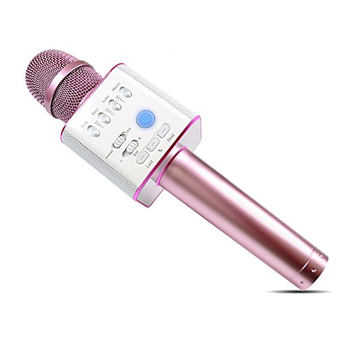 V.one beweglicher Handy Karaoke Lautsprecher Schatz Handheld KTV Handy Bluetooth Karaoke Player Wireless Mikrofon