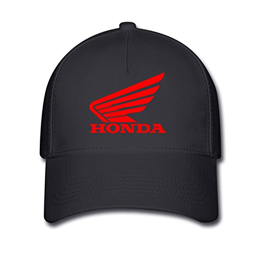 Hittings Unisex Honda Logo Baseball Caps Hat One Size Black