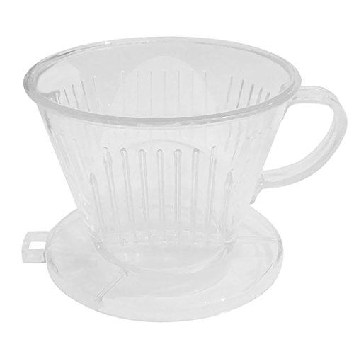 Fenteer Kaffeefilter Ersatzfilter für Kaffeemaschinen - Klar, 11.7cm