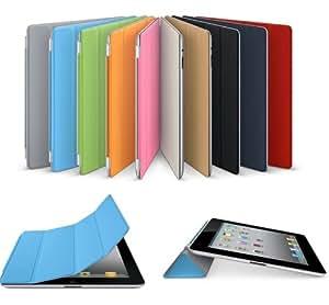 Nouveau Modèle pour Apple iPad 4A1460Ultra Fine en cuir Smart Coque arrière Housse Vert