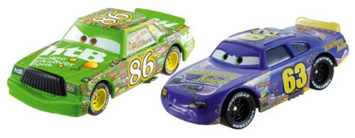 Mattel BDW83 Cars Diecast 1:55 Veicolo Two Pack Y0506
