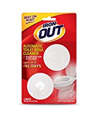 Summit Brands AT12T Iron Out Automatic Toilet Bowl Cleaner, by Summit Brands