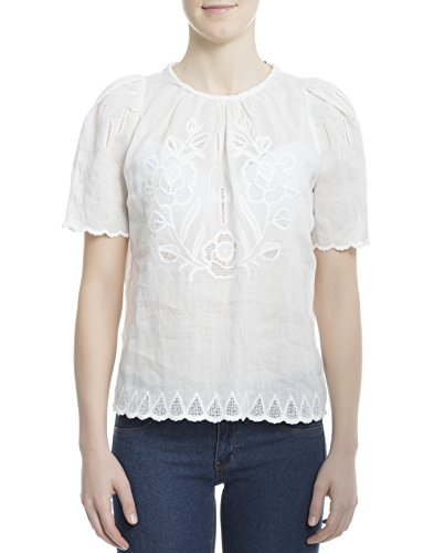 isabel-marant-womens-ht096117p022i20wh-white-fabric-top