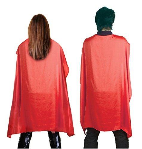 Fun Shack Damen Costume Kostüm, Superhero Cape Red, Einheitsgröße