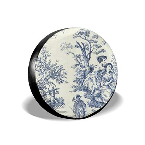 Toile De Jouy Wallpaper Kissencases Decorative Kissen Covers Soft Cozy Tire Cover Car Accession Travel Decor