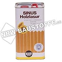 Burtex Sinus Holzlasur 5 Liter Farbe Kiefer