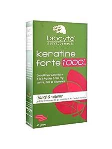 Biocyte Keratine Forte 1000 mg 40 Gélules