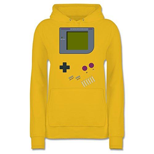 Nerds & Geeks - Gameboy - XXL - Gelb - JH001F - Damen Hoodie