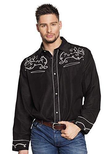 Boland 54337 Western - Camiseta (Talla XL), Color Negro