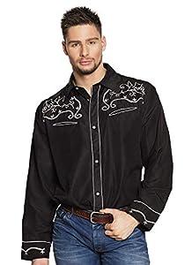 Boland 54336 Western - Camiseta (Talla L), Color Negro