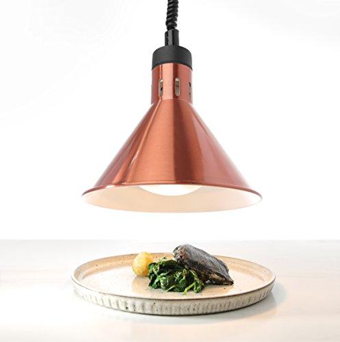 Hendi 273876 lampada termica conica regolabile