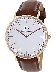 Daniel Wellington Damen-Armbanduhr Analog Quarz Leder DW00100035