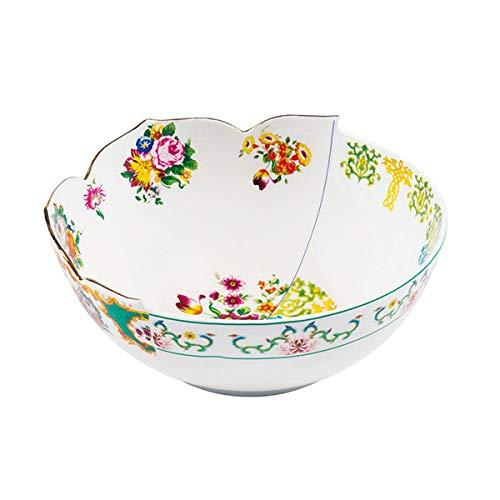 SELETTI 'Saladier en Porcelaine ø cm.22,5 H.10 Hybrid-Zaira