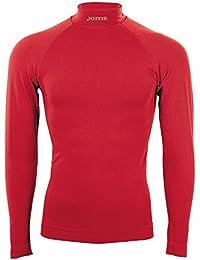 Joma Brama Classic Camiseta térmica Unisex, Rojo, S-M