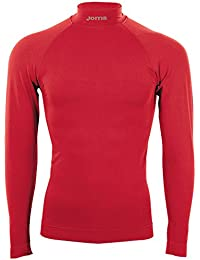 Joma Brama Classic, Camiseta térmica Unisex, Rojo, L/XL