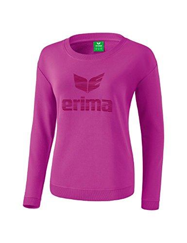 Erima 2071833 Sweat-Shirt Femme Fuchsia/Purple Potion