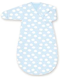 Bemini by Baby Boum Pady Jersey Sleeping Bag (0-3 Months, Milky 61 Frost)