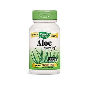 Nature's Way Complément alimentaire à base delatex et de feuille d'aloès - 100 capsules