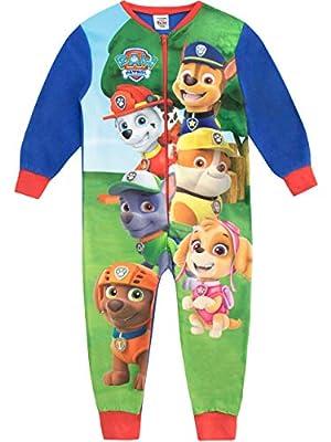 Paw Patrol Pijama Entera para niños La Patrulla Canina