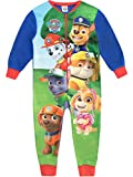 Paw Patrol Jungen Chase Marshall Rubble Schlafoveralls Mehrfarbig 110