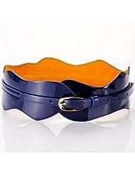 WZW Accessoires de cuir verni bande ceinture jupe