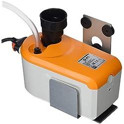 Sauermann Pompa Scarico condensa a pistone con Serbatoio Integrato, ABS, Bianco/Arancione, Fino a 50 Kw