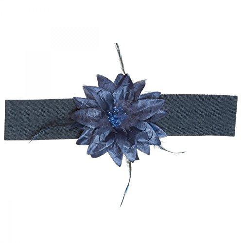 Cintura elasticizzata BLU