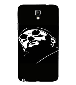 PrintVisa Cool Man Design 3D Hard Polycarbonate Designer Back Case Cover for Samsung Galaxy Note 3 Neo