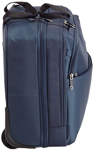 American Tourister Atlanta Heights Laptop Rollkoffer, 25.0 Liter, Navy Blue Navy Blue