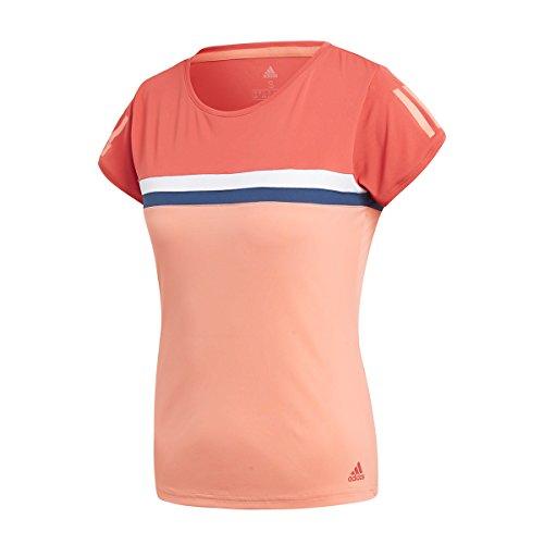 adidas Damen Club T-Shirt, Trace Scarlet, S