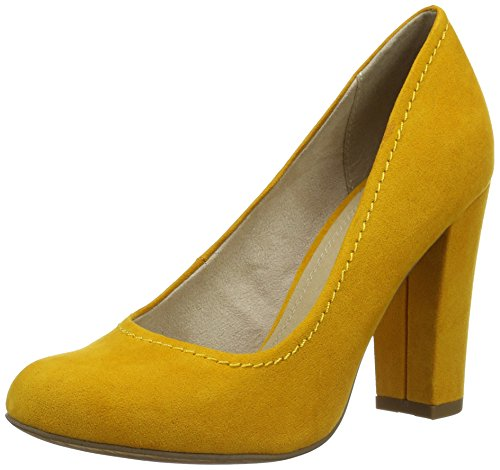 Marco Tozzi Damen 22425 Pumps, Orange (Mango 637), 37 EU