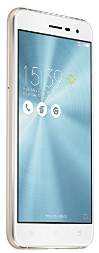 Asus ZenFone 3 (ZE520KL) Dual-SIM Smartphone (13,2 cm (5,2 Zoll) Full-HD Touch-Display, 32 GB Speicher, Android 6.0) weiß (Moonlight White) - Android-handy Asus