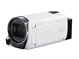 "Canon LEGRIA HF R706 - Videocámara (Pantalla táctil de 3"", Zoom óptico de 32x, estabilizador óptico, Full HD), Blanco (B01AJVN46G) 