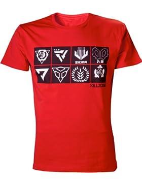 Killzone - Camiseta Incons - Algodón rojo