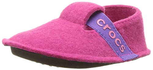 Crocs Unisex-Kinder Classic Slipper Kids Pantoffeln, Pink (Candy Pink),C7 UK(23-24 EU)