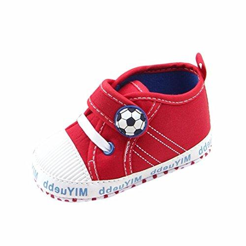 Zapatos Bebe Suela Blanda Fossen Patrón fútbol Zapatos