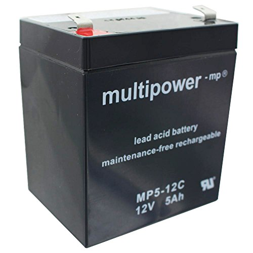 Multipower Blei Gel Akku/12V 5Ah/Zyklenfest/MP5-12C