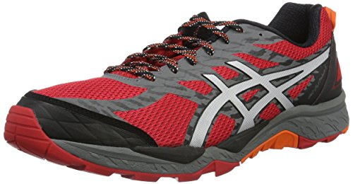 Asics Herren Gel-Fujitrabuco 5 Gymnastik Rosso (True Red/Silver/Black)