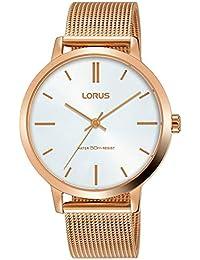 45896de9fa60 Amazon.es  LORUS - Dorado   Relojes de pulsera   Mujer  Relojes