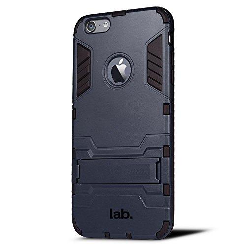 iphone 6s plus X1 slim back case matte finish by labrador (Navy Blue)